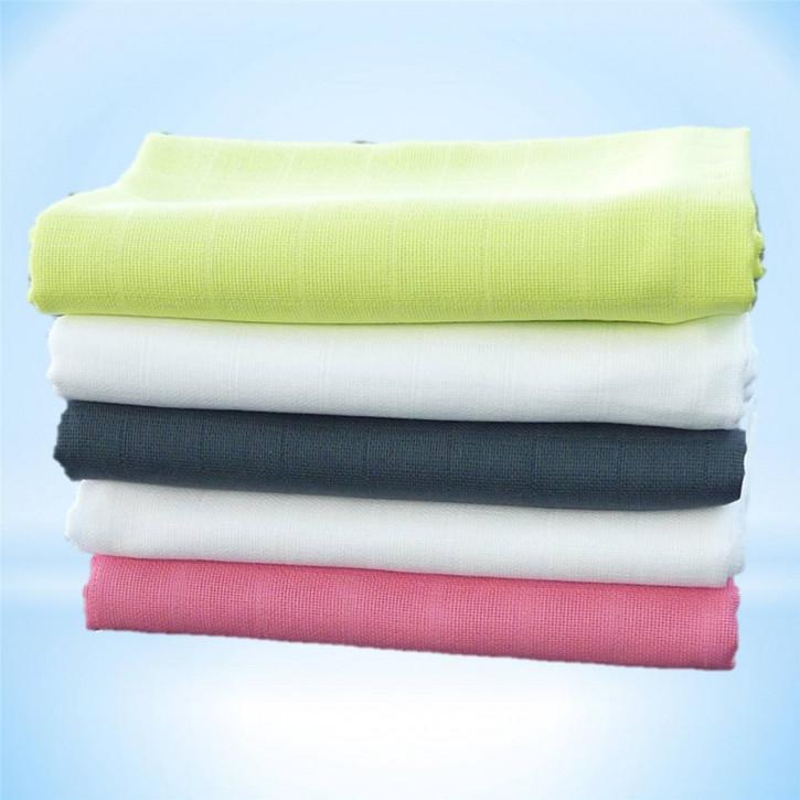 Mullwindeln   Spücktücher   Mulltücher 5 Stück 70 x 70 cm mit verstärktem Rand und Öko-Tex Standard 100 (Pink/Kiwi/Anthrazit)